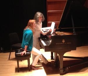 With Jill at piano at SP