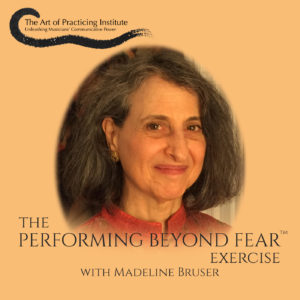 Performing Beyond Fear Exercise