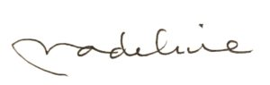 Madeline Bruser signature